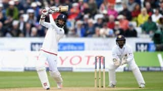 England go into lunch at 408 for 8 against Sri Lanka on Day 2, 2nd Test at Durham