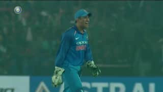 Video: Tom Latham's run out by Jasprit Bumrah leaves MS Dhoni in splits
