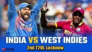 India vs West Indies 2018, 2nd T20I, LIVE cricket score, Lucknow: Rohit Sharma's 111 seals series 2-0