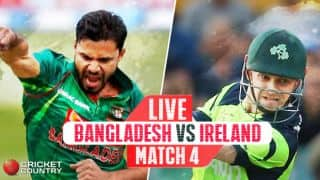 BAN 182/2 in 27.1 overs| Live Cricket Score, Bangladesh vs Ireland, Ireland Tri-Series, Match 4: BAN win by 8 wickets