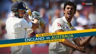 Live Cricket Score England vs Australia, The Ashes 2015, 4th Test at Trent Bridge, Day 2 AUS 241/7: Bad light stops play