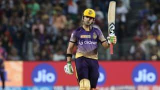 IPL 2017: Gambhir goes past 6,000 T20 runs, scores 4,000 IPL runs