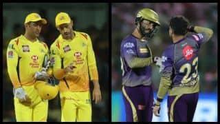 चेन्नई-कोलकाता मैच में 'कैप्टन कूल' धोनी के सामने आंद्रे रसेल को रोकने की चुनौती