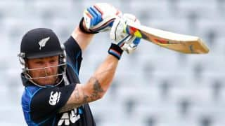 McCullum reveals he was smoking during NZ vs SA, ICC World Cup 2015