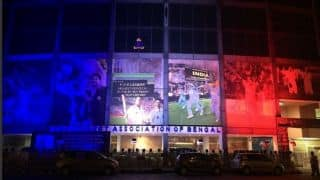 Eden Gardens pay tribute to victims of Paris terror attack