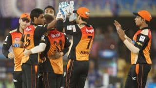 IPL 2014: Rajasthan Royals (RR) vs Sunrisers Hyderabad (SRH), Match 30 at Ahmedabad