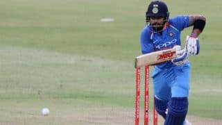 Virat Kohli slams first ODI hundred on South African soil; takes tally to 33