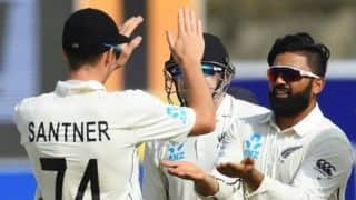 1st Test: Ajaz Patel scalps five as New Zealand restrict Sri Lanka to 227/7 on Day 2