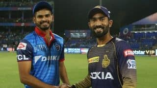 IPL 2019, KKR vs DC: Shreyas Iyer wins toss, Delhi Capitals elect to bowl against Kolkata Knight Riders