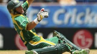 ICC World Cup 2007: AB de Villiers scores 146 on one leg against West Indies
