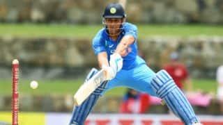 MS Dhoni, Ajinkya Rahane help India post 251 for 4 in 3rd ODI vs West Indies