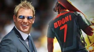 Shane Warne goes MS Dhoni way; makes surprising announcement for fans