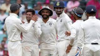 4th Test: Kuldeep, Jadeja undo Australia's spark on rain-truncated day