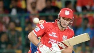 JP Duminy removes David Miller in Kings XI Punjab vs Delhi Daredevils in IPL 2015, Match 10