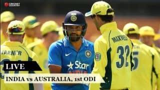 Highlights, India vs Australia, 1st ODI at Chennai: India take 1-0 lead
