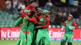 Bangladesh vs England ICC Cricket World Cup 2015 Pool A match at Adelaide