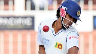 Dinesh Chandimal scores chancy half-century in India vs Sri Lanka 2015 1st Test, Day 1