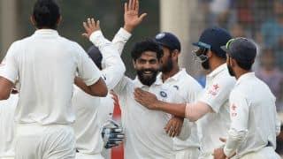 टीम इंडिया ने मनाया रवींद्र जडेजा का बर्थडे, देखिए वीडियो