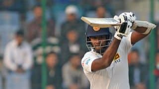 Angelo Mathews' fifty keeps Sri Lanka in hunt; India lead by 405 at stumps, Day 2, 3rd Test