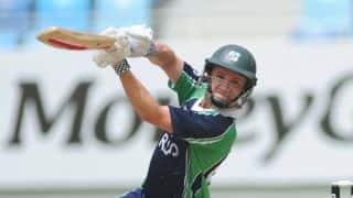 Live Cricket Score, Ireland vs Scotland 2015, Dubai Triangular series, Match 6: Match Abandoned, Ireland win tri-series