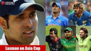 VVS Laxman: Asia Cup ideal dress-rehearsal for ICC World T20 2016