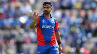 Cricket World Cup 2019: Shirzad replaces Alam in Afghanistan squad under exceptional circumstances