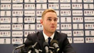 Stuart Broad pleased with Paul Collingwood's return to England camp