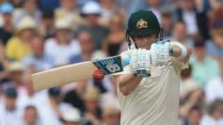 Ashes 2019: Smith hits fifty after Broad, Woakes spark Australia collapse at tea on Day 1