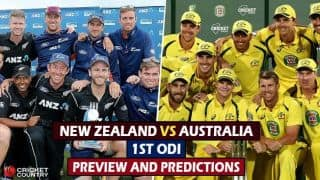 Australia in New Zealand ODI series: Depleted visitors eager to maintain winning momentum