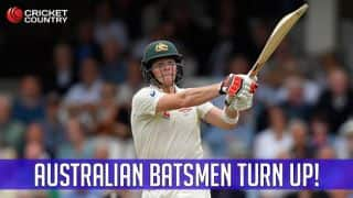 Ashes 2015 5th Test at The Oval: Finally, Australia's batsmen turn up