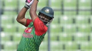 Tamim Iqbal century propels Bangladesh to 180 for 2 against Oman in ICC World T20 2016 Group A Match 12 at Dharamsala