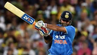 India vs Australia Live: Suresh Raina dismissed for 10 by Shane Watson in T20 World Cup 2016