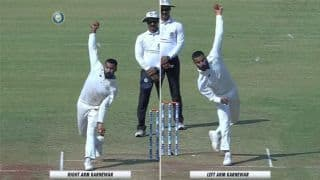 Irani Trophy: Akshay Karnewar bowling from both hand from the age of 16
