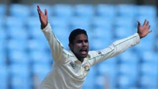 Gazi suspended from bowling in international cricket