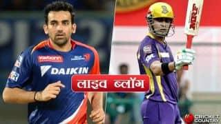 हाईलाइट्स: मनीष पांडे- पठान के अर्धशतक, केकेआर ने दिल्ली डेयरडेविल्स को 4 विकेट से हराया