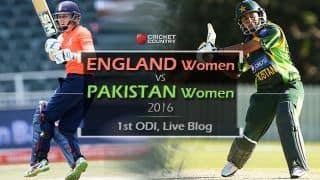 ENGW 166/3 in 31.5 overs, Live Cricket Score, England Women vs Pakistan Women 2016, 1st ODI at Leicester: ENGW win by 7 wickets