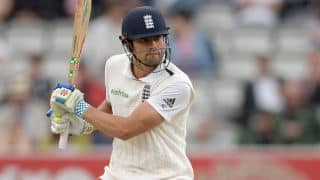 Alastair Cook, Ian Bell dismissed in quick succession in The Ashes 2015 1st Test at Cardiff