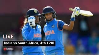 Live Cricket Score, India Women vs South Africa Women, 4th T20I: Match abandoned due to rain