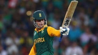 Quinton de Kock, JP Duminy massacre India as South Africa post 196 for 8 in ICC World T20 2016 warm-up match at Mumbai