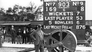Ashes 1938: Len Hutton 364; England 903 for 7 at The Oval