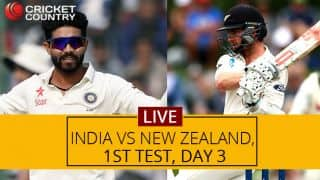 INDIA 159/1; lead by 215 | India vs New Zealand Live score, 1 Test, Day 3: India in complete command