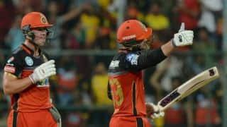 IPL 2018, Match 24: AB de Villiers-Quinton de Kock carnage takes RCB to 205 for 8 vs CSK