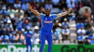 Match highlights India vs Afghanistan, Match 28: Mohammed Shami hat-trick seals India's thrilling 11-run win against Afghanistan