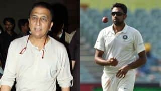 "Gavaskar ""astonished"" at Ashwin's omission in Antigua"