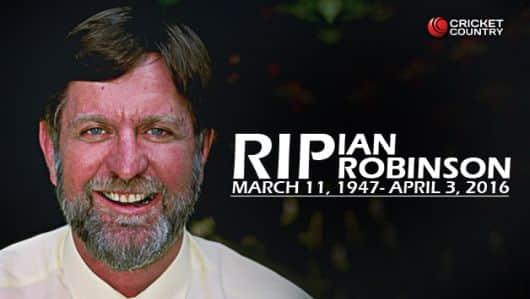 Former Zimbabwe umpire Ian Robinson passes away at 69