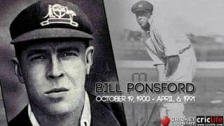 Bill Ponsford: 20 facts about the pre-Bradman run-machine