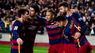 Barcelona and Real Madrid win, Atletico Madrid crash out of title race