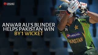 Anwar Ali plays blinder as Pakistan win by 1 wicket to clinch T20I series 2-0