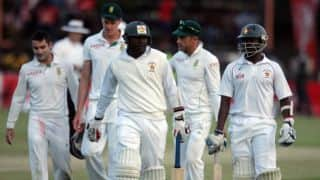 Gutsy Zimbabwe end day one at 248 for nine