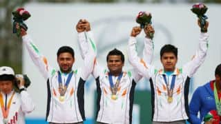 President congratulate medal winners
